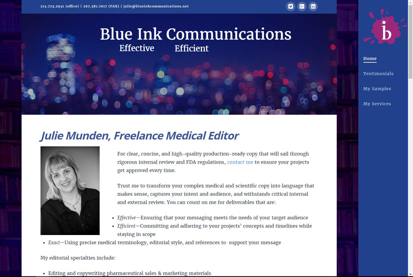 blue ink communications